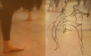 balans in de dans