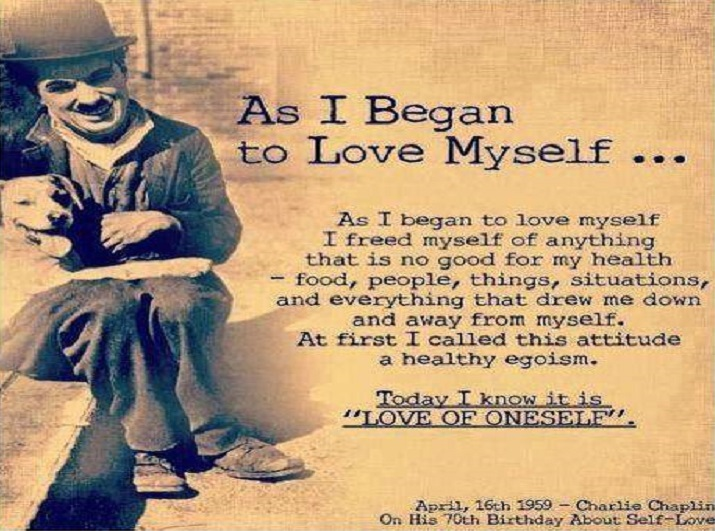 Toen ik van mezelf begon te houden…