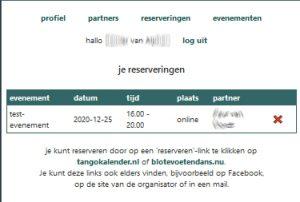 reserveringssysteem